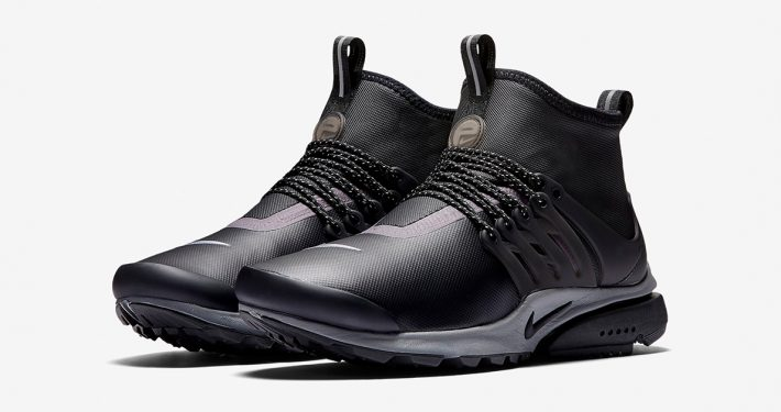 Womens Nike Air Presto Mid Utility Black