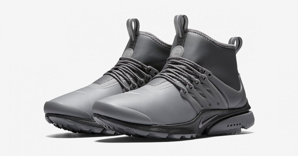 Womens Nike Air Presto Utility Mid Dark Grey Next Level Kickz