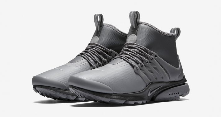 Womens Nike Air Presto Mid Utility Dark Grey