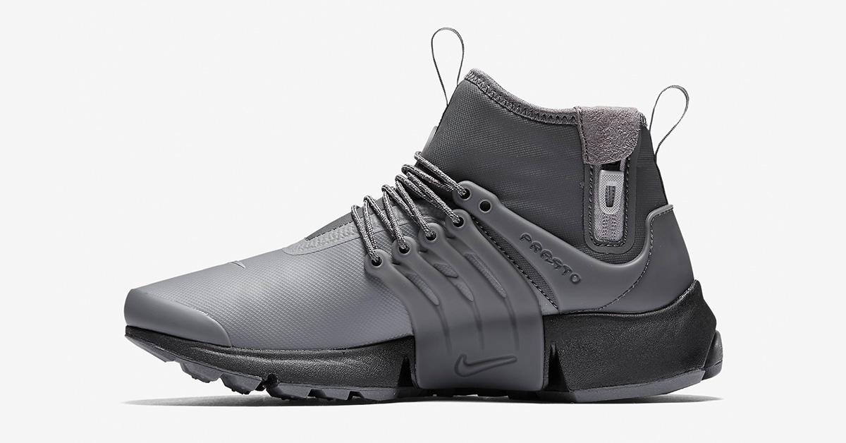 Womens Nike Air Presto Mid Utility Dark Grey