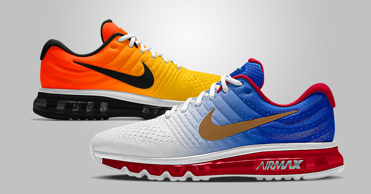 8 Great Nike Air Max 2017 iD Designs Next Level Kickz
