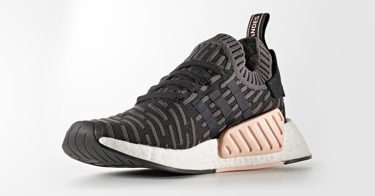 Adidas NMD R2 Primeknit Shadow Noise Black
