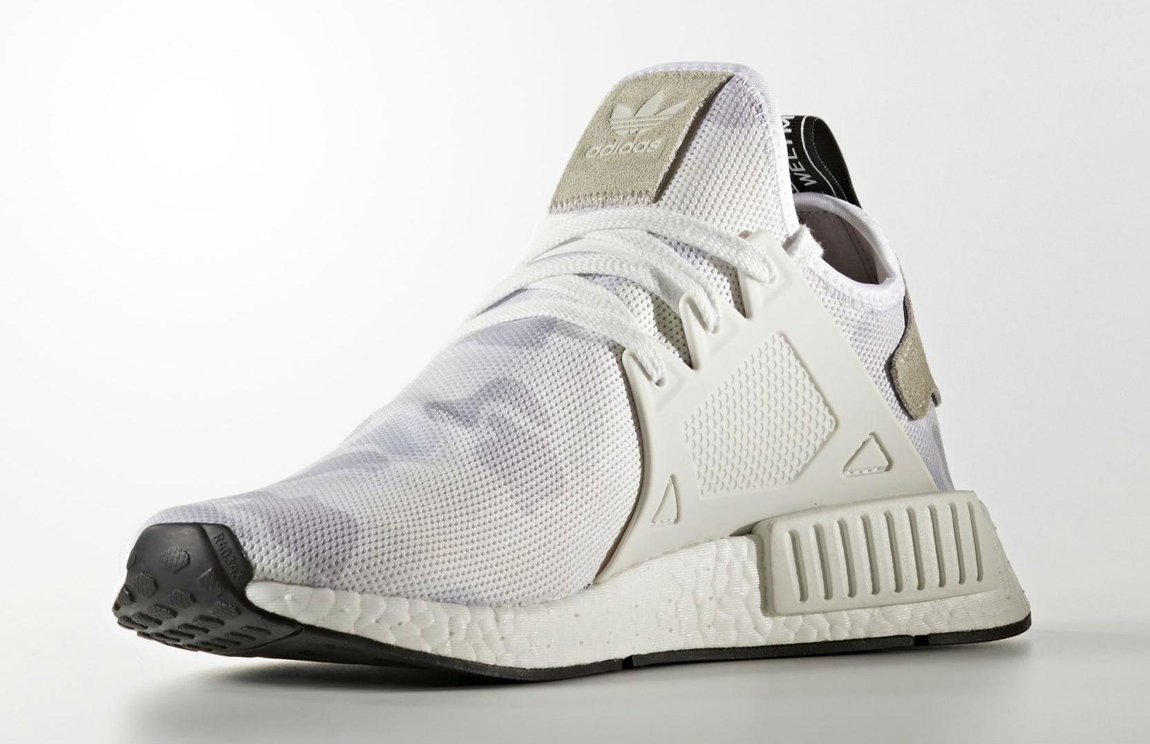Adidas NMD XR1 White Camo