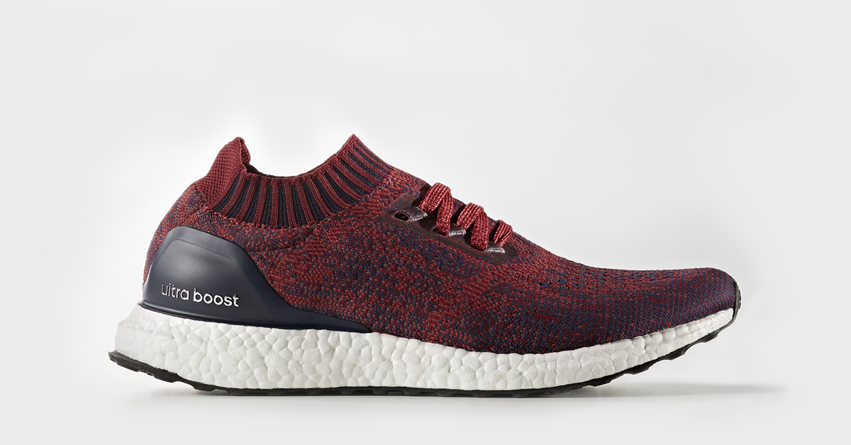 Adidas Ultra Boost Uncaged Burgundy