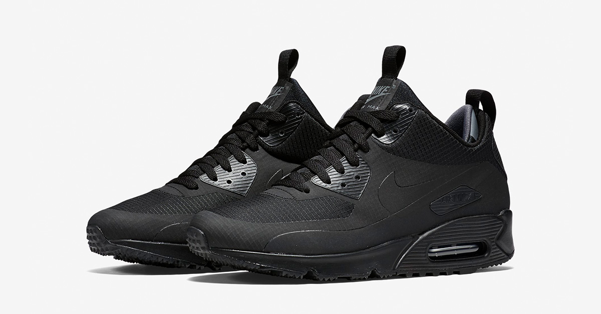 Nike Air Max 90 Mid Winter Black Next Level Kickz