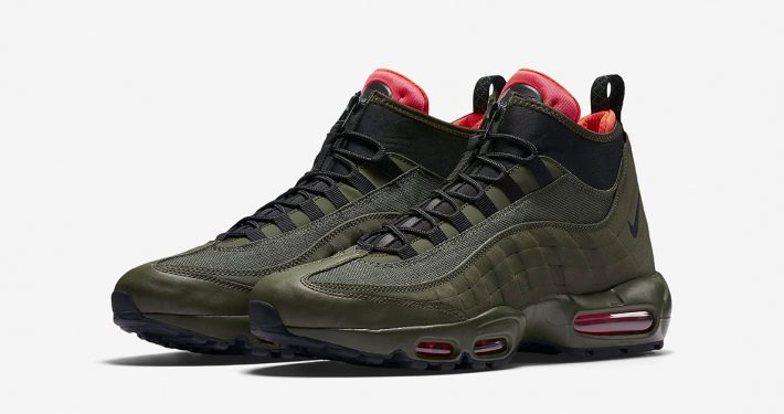 Nike Air Max 95 Sneakerboot Dark Loden