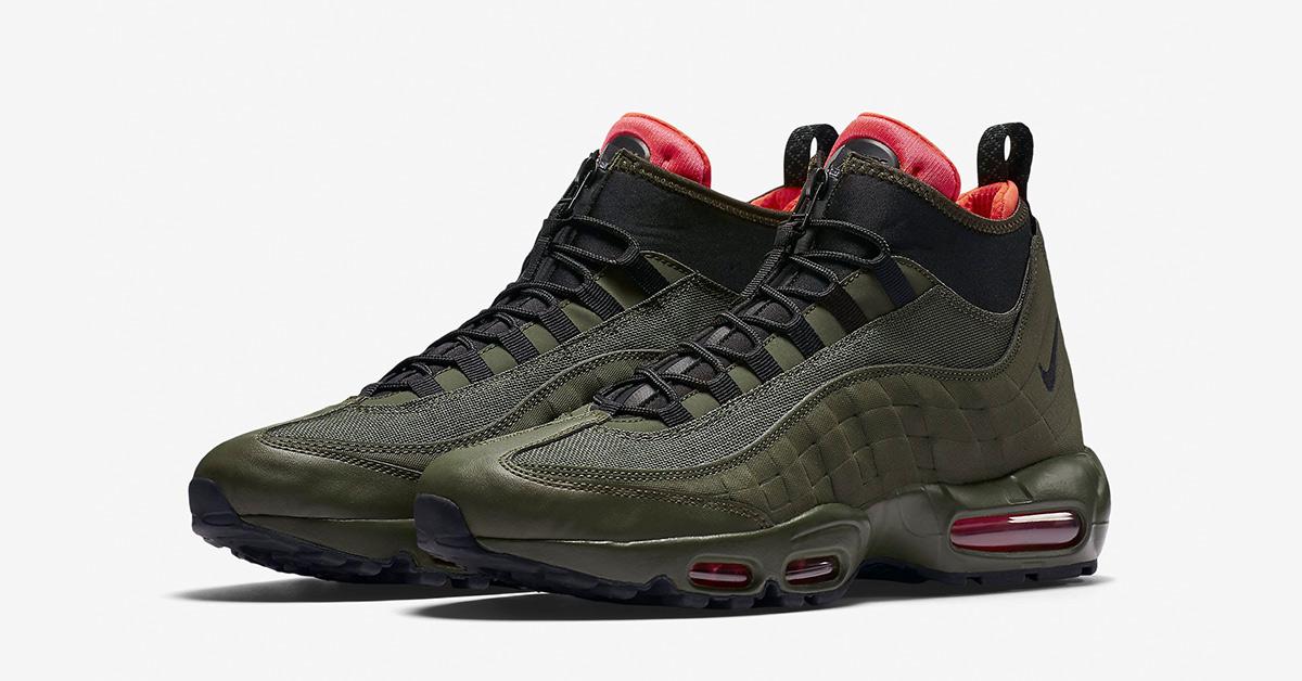 Nike Air Max 95 Sneakerboot Dark Loden