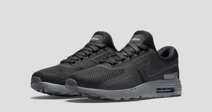 Nike Air Max Zero Black Dark Grey