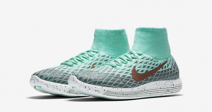 Nike LunarEpic Flyknit Shield Green Glow