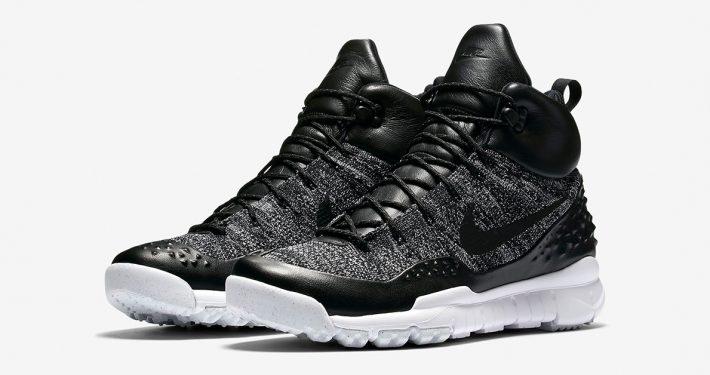 Nike Lupinek Flyknit Black White