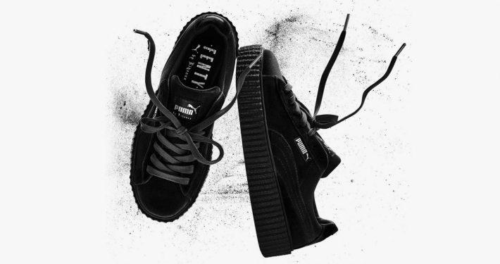 Rihanna x Puma Creeper Black Velvet