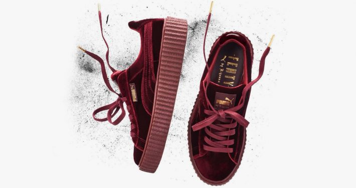 Rihanna x Puma Creeper Red Velvet