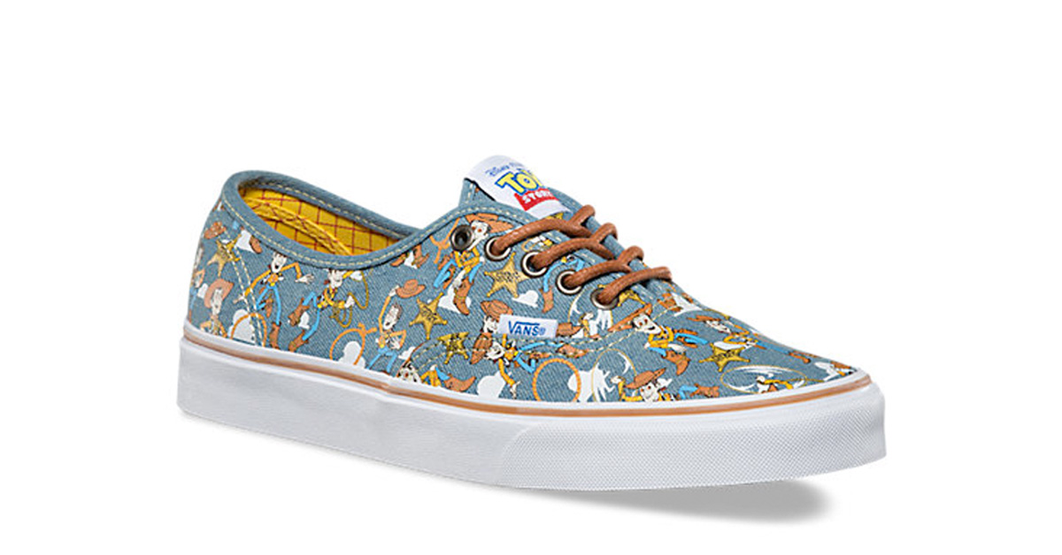 Toy Story x Vans Authentic Woody