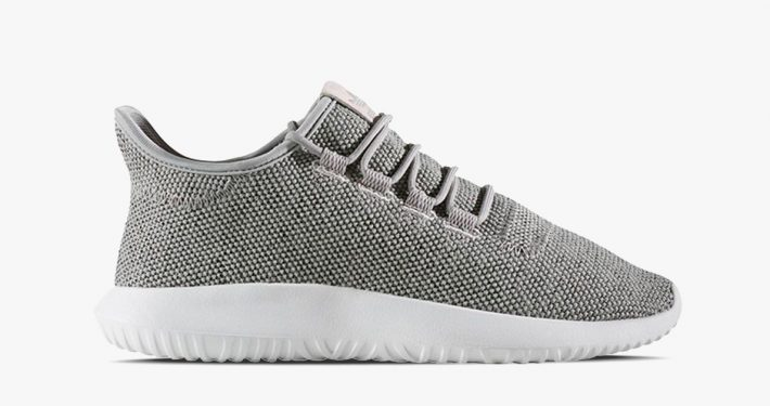 Womens Adidas Tubular Knit Shadow Granite