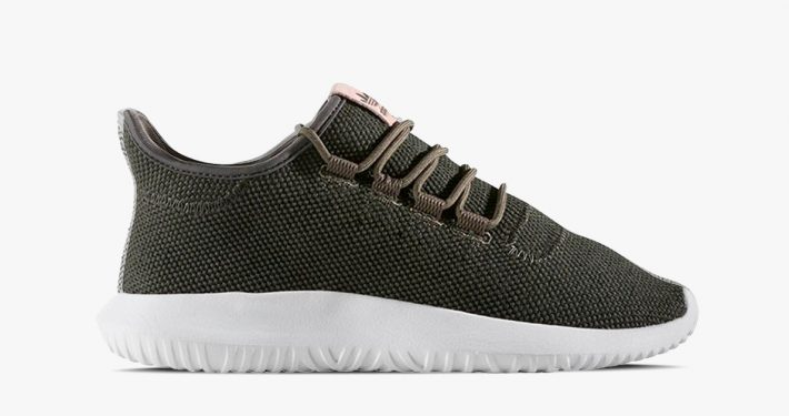 Womens Adidas Tubular Knit Shadow Utility Grey
