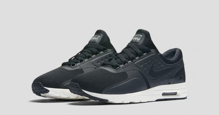 Womens Nike Air Max Zero Black Sail