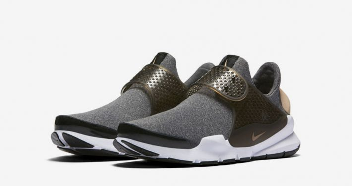 Womens Nike Sock Dart SE Black Dust
