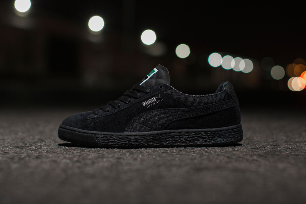 Diamond Supply x Puma Suede Classic Black