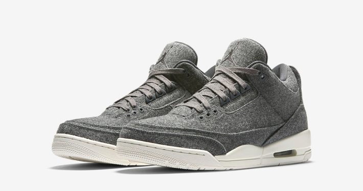 Nike Air Jordan 3 Retro Wool Grey