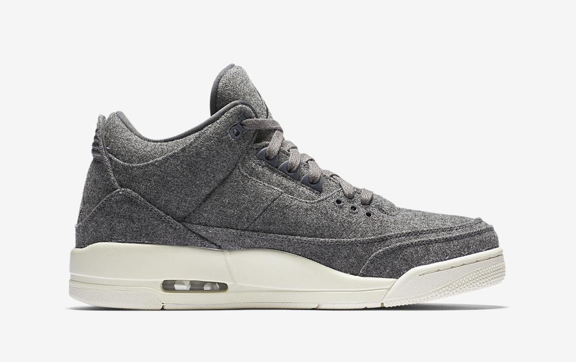 Nike Air Jordan 3 Retro Wool Grey