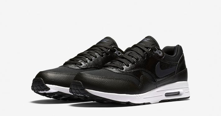 Womens Nike Air Max 1 Ultra 2.0 Black White