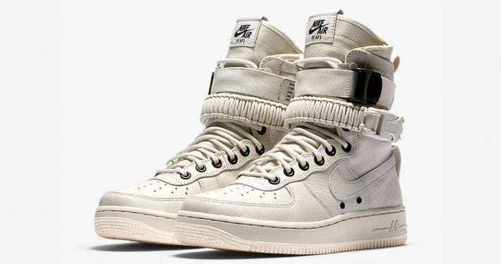 Womens Nike Special Field Air Force 1 Light Bone