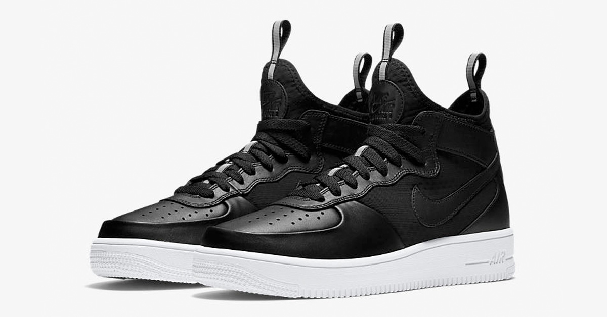 8ebf0d4fd847 Nike Air Force 1 Ultra Force Mid Black - Next Level Kickz