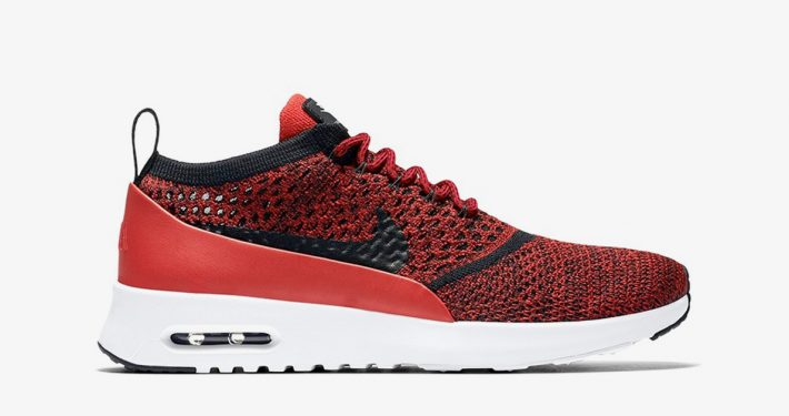Nike Air Max Thea Flyknit University Red