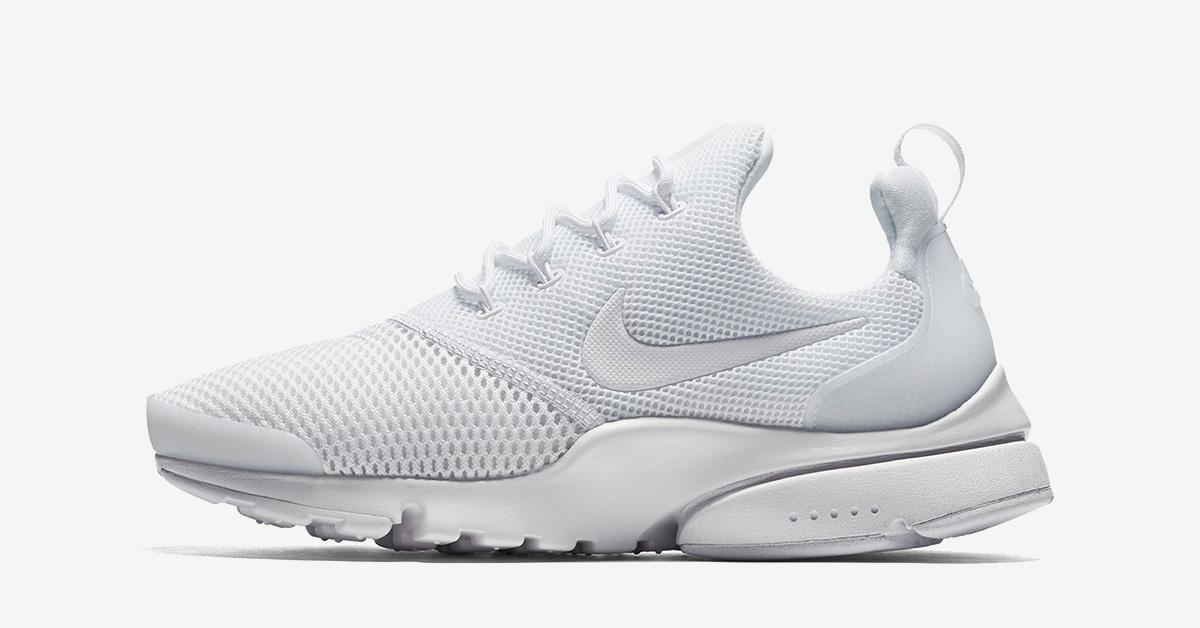 Nike Air Presto Fly Triple White - Next