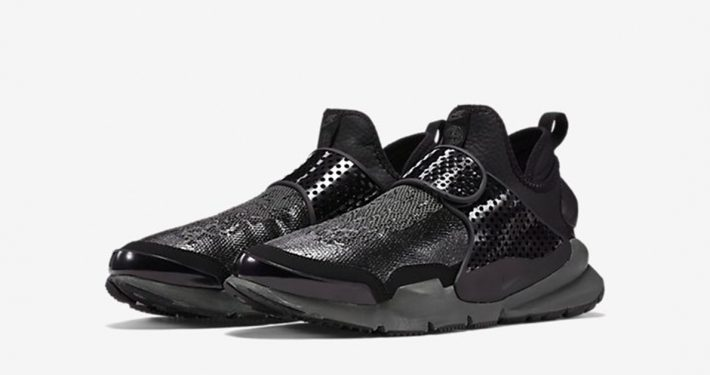 Stone Island x Nike Sock Dart Mid Black
