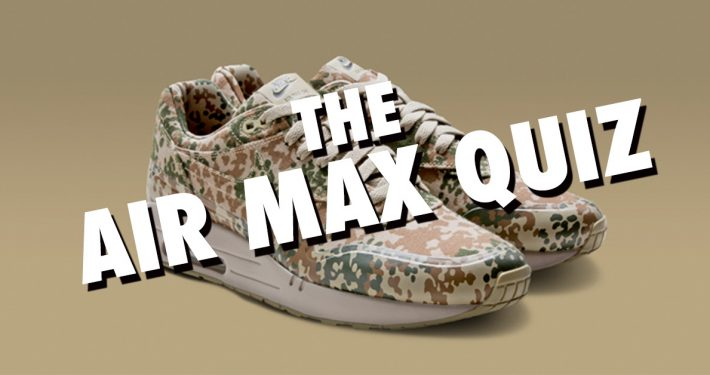 The Nike Air Max Quiz
