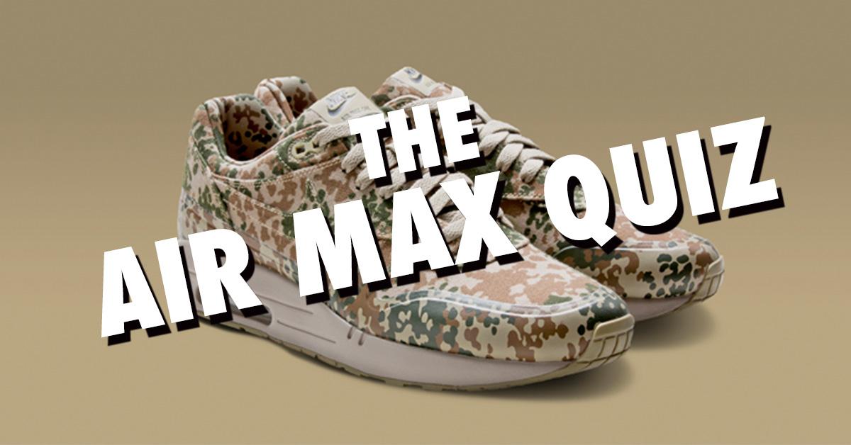 The Nike Air Max Quiz