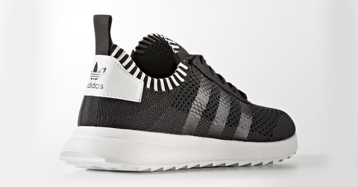Womens Adidas Flashback Primeknit Black