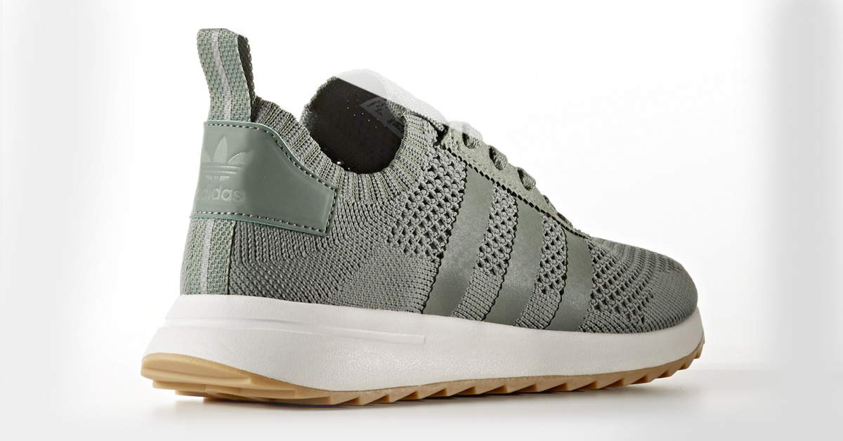 Womens Adidas Flashback PK Trace Green