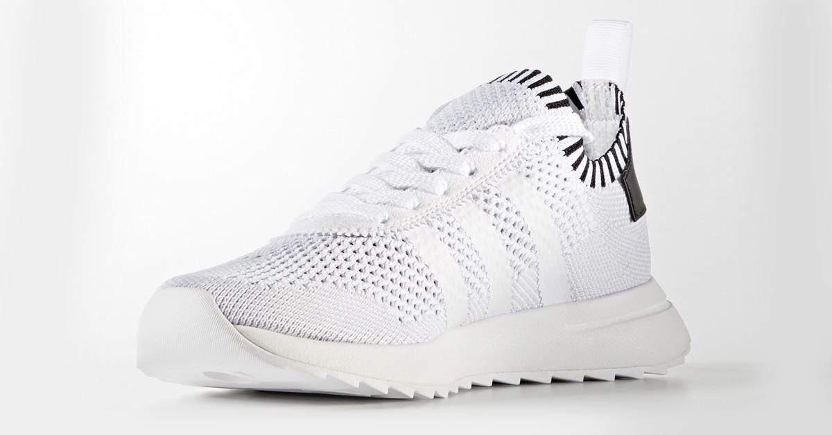 Womens Adidas Flashback PK White