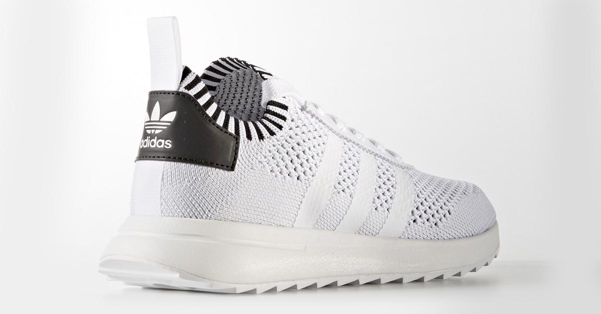 Womens Adidas Flashback Primeknit White