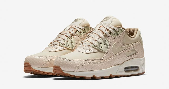 Womens Nike Air Max 90 Premium Weave Oatmeal
