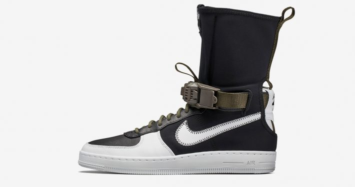 Acronym x NikeLab Air Force 1 Downtown Hi Black White