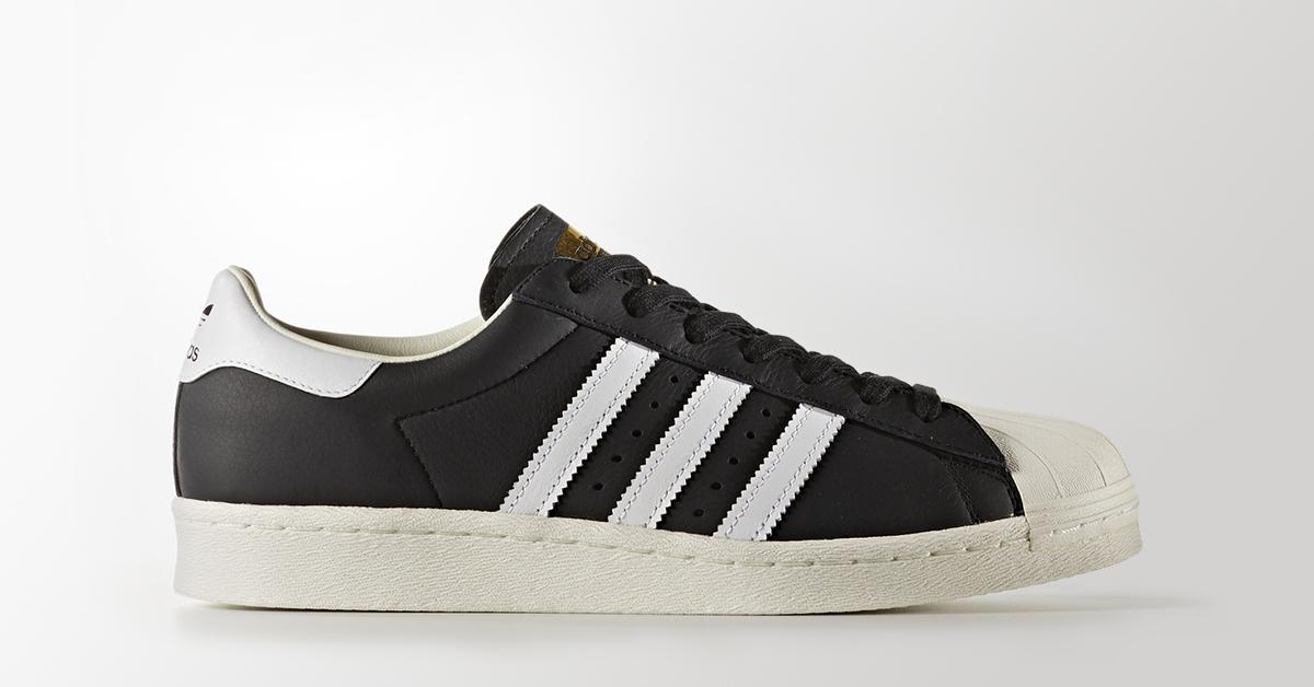 Adidas Superstar Boost Black White