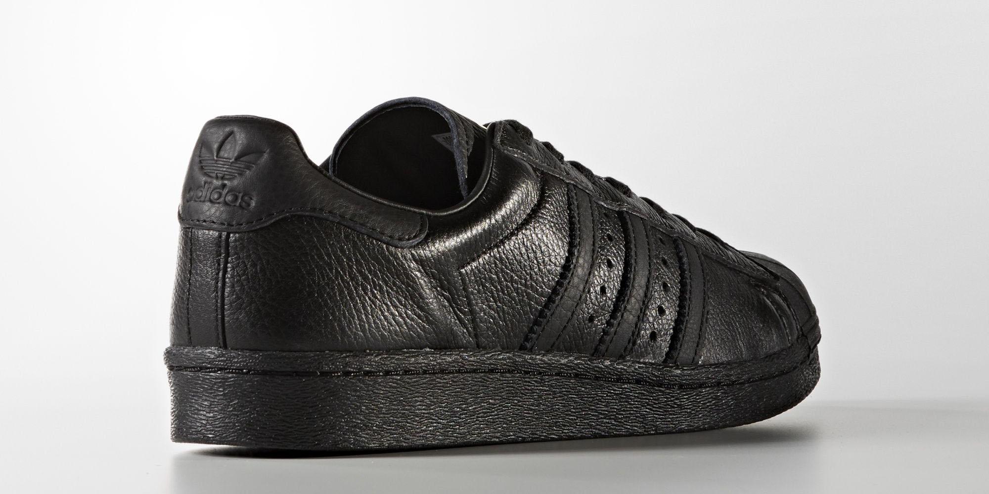 Adidas Superstar Boost Triple Black