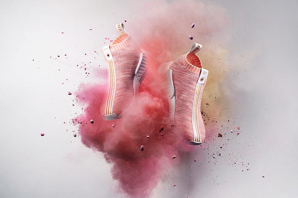 Naked x KITH x Adidas NMD CS2 Pink
