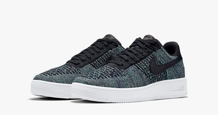 Nike Air Force 1 Ultra Flyknit Low Vapor Green Black