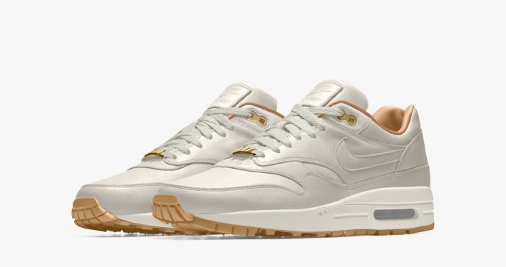 Nike Air Max 1 iD Premium Leather Light Bone