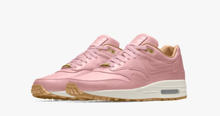 Nike Air Max 1 iD Premium Leather Pink