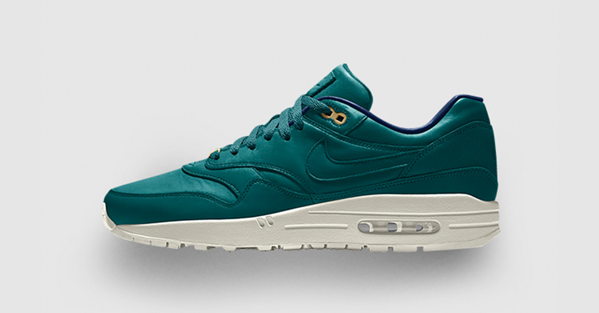 Nike Air Max 1 iD Tan Premium Leather