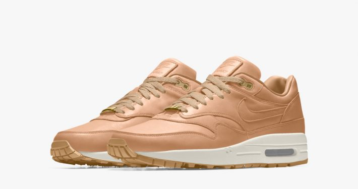 Nike Air Max 1 iD Premium Leather Vachetta Tan