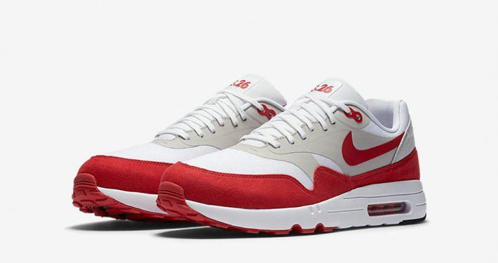 Nike Air Max 1 Ultra 2.0 White Red