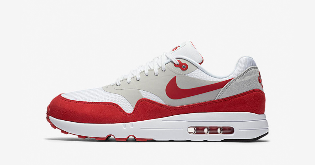 Nike Air Max 1 Ultra 2.0 White Red