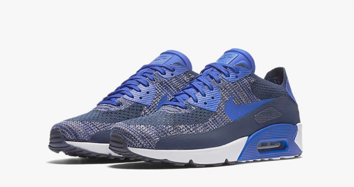 Nike Air Max 90 Ultra Flyknit College Navy