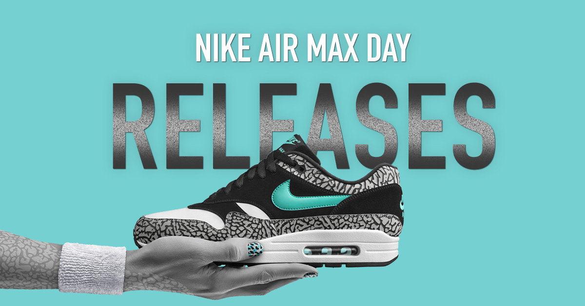 Nike Air Max Day Relelases